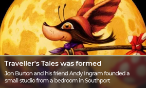 Traveller's Tales was formed