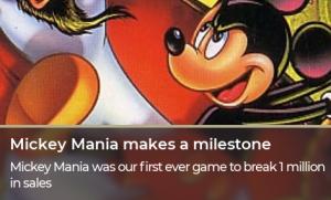 Mickey Mania makes a milestone