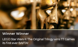 We won our first BAFTA!