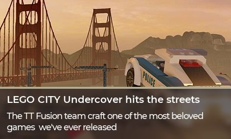 LEGO City Undercover releases