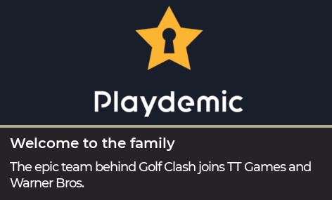 Playdemic joins the family
